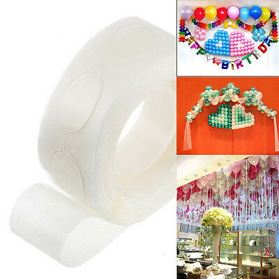 100pcs/Roll Removable Balloon Glue Dots Sticky Adhesive Tape Party Supplies