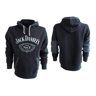 Jack Daniels Classic Old No. 7 Medium Hoodie, Black