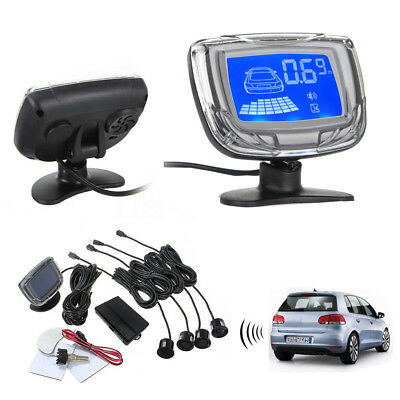 LCD Car Reverse Radar + Rear View Parking Sensor Backup Alarm System Buzzer LOTS