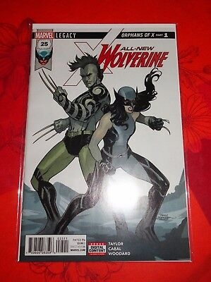 Comics VO Marvel All New WOLVERINE N°25 – Cover Terry Dodson - Neuf