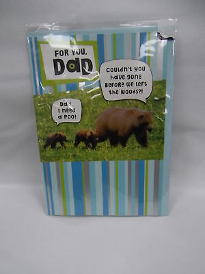 Bears Father's Day Card