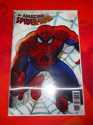 Comics VO Marvel SPIDER-MAN N°789 – Cover Alex Ross Lenticulaire – Neuf