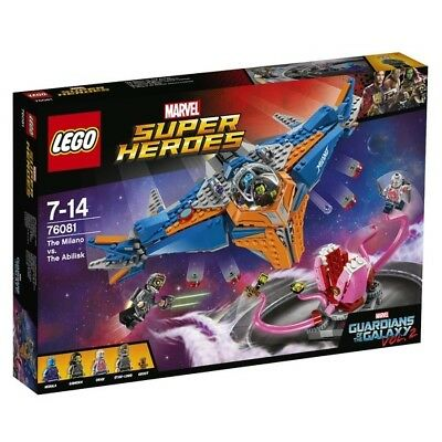 LEGO Marvel Super Heroes Guardians of the Galaxy Milano vs The Abilisk 76081
