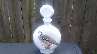 Field birds by A. Singer  Whiskey Decanter 1969