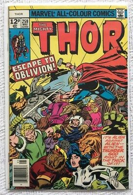 Mighty Thor • Vol 1 • #259 • VG/F Condition • 1st Print (1977)