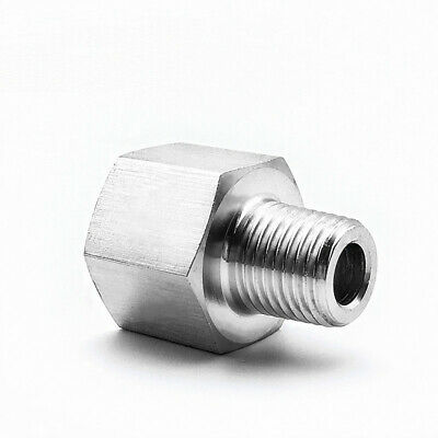 Fitting Reducer Metric M8 M8X1 Female to M6 M6X1 Male Gauge Meter Adapter  @PT