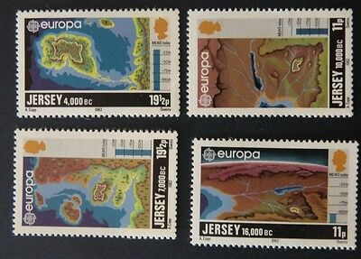 JERSEY - 1982, Lot of 4 Stamps EUROPA