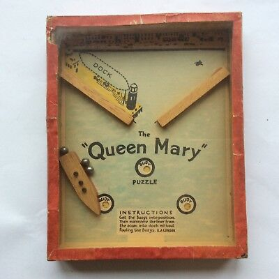 The Queen Mary Vintage R Journet Puzzle