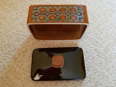 Hornsea Bronte Butter Dish With Lid