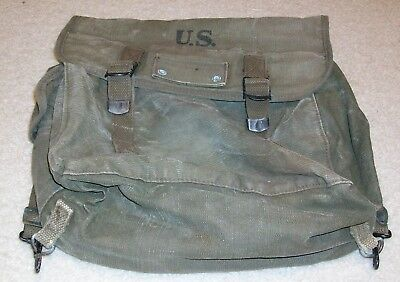 US Army WWII field pack, rucksack dated 1945