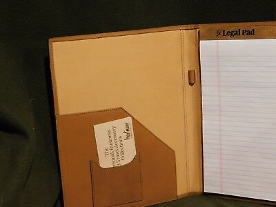 Hartmann Belted Leather Tan Portfolio New In Box With Tags