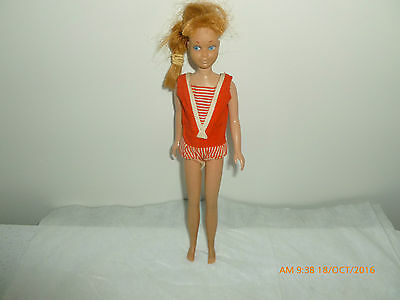 Skipper 1963 Red Hair Doll  with Orginal Outfit