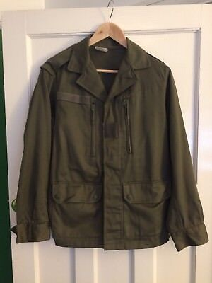 J.Veyrier Paris 1986 Vintage French Army Shirt Jacket Small