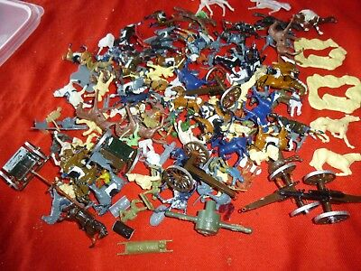 Job Lot Vintage Collectable Airfix  ? Model Toy Soldiers World War 1 & 2 America