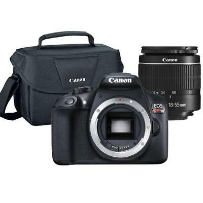 Canon EOS Rebel T6 18MP DSLR Camera with 18-55mm Lens and Canon 100ES Case