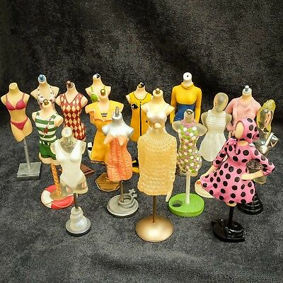 17 'The Latest Thing' Mini Mannequins - Silhouettes  All Boxed & Pristine