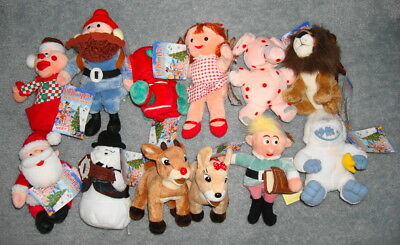 Complete 1998 Edition 12 piece Island of Misfit toys Plush Collection + CVS Elf