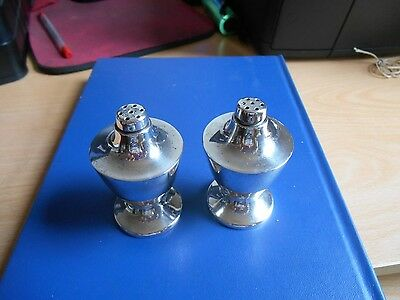 2 Mexican Silver?? Or Silver Plate Pepperettes