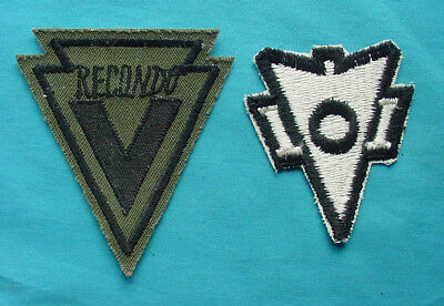 Us Army  Recondo Vietnam Subdued & Regular Patch Group