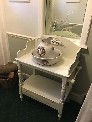 Beautiful Shabby Chic Victorian Washstand