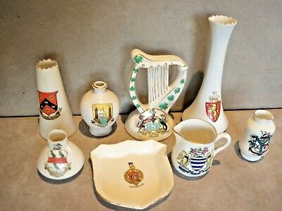 Collection Of Crested Ware China.  #3
