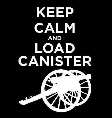 Keep Calm and Load Canister