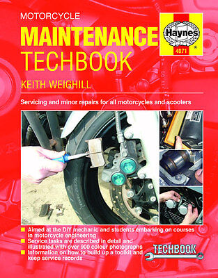Motorcycle Maintenance TechBook DIY Repairs Haynes Manual 4071 NEW