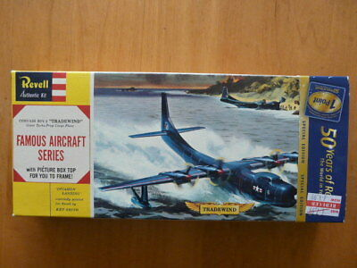 Boxed Revell 1:166 Convair R3Y-2 'tradewind' Giant Turbo Prop Cargo Plane H178
