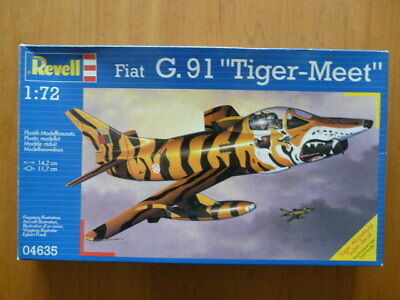 Boxed Revell 1:72 Fiat G91 'tiger Meet' 04635