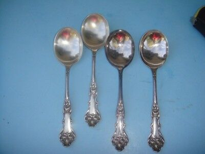 1906 CHARTER OAK SERVING SOUP TABLESPOON 1847 Rogers SP Silver Plate FLATWARE
