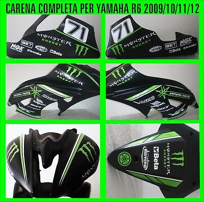 Kit adesivi per carene Yamaha R6 Racing