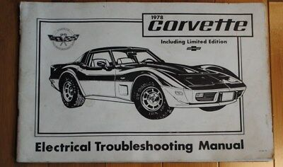 1978 Corvette Electrical Troubleshooting Manual