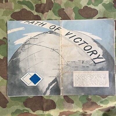 Rare Deadeyes 96th Infantry Division WWII Unit History Booklet Early Pamphlet