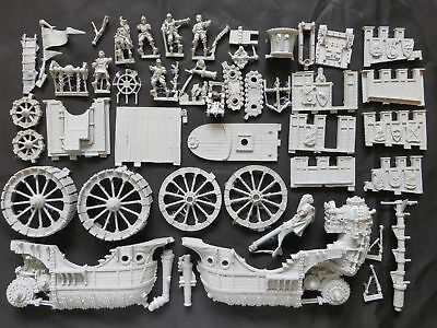 FORGE WORLD MARIENBURG LANDSHIP  -  OOP Warhammer Empire Free Peoples AOS Army