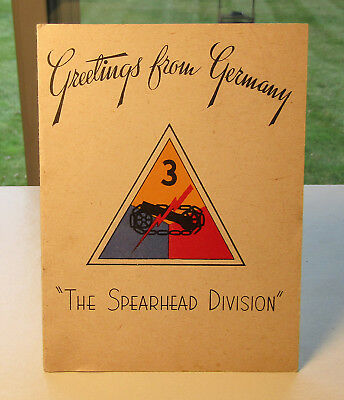 Wwii 3Rd Armored Division Spearhead Christmas Greetings From Germany
