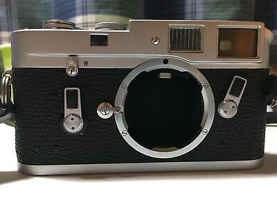 Leica M4 with MP advance lever