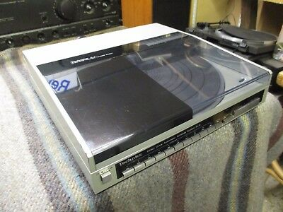 Technics Sl-6 Linear Track Full Auto Direct Drive  Turntable