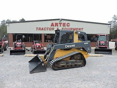 2012 John Deere 333D Skid Steer Loader - Caterpillar - Bobcat - Good Condition!!