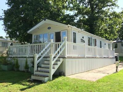 3 bed 2014 Static Caravan fully stocked and set up in New Milton, New Forest