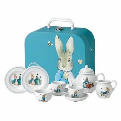 Wedgwood Beatrix Potter Peter Rabbit Children's Tea Set New In The Box