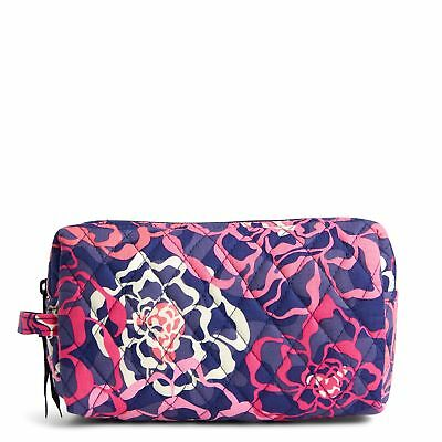 Vera Bradley Factory Exclusive Medium Cosmetic Makeup Bag