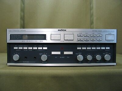 Revox B 251 Integrated Amplifier ( For Parts or Restoration Only! )