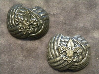 Boy Scouts Of America ~ Neckerchief Bolo Slide ~ Vintage ~ Circa Early 1960's