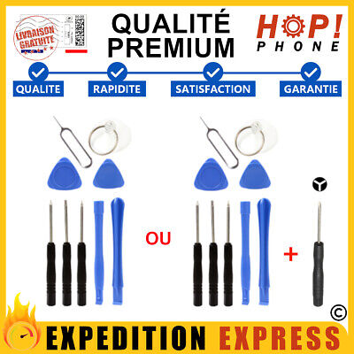 kit 8 / 9 outils iPhone 4 5 5c 5s 6 6s plus 7 7 plus tournevis spatule ventouse