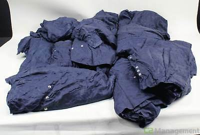 Lot of 15 Worklon Style 1951 Polyester Cleanroom Coverall Size 2XL