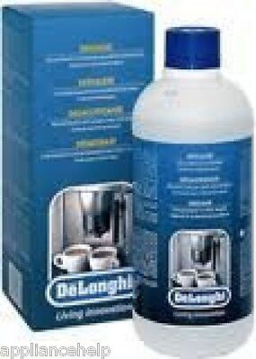 Delonghi Magnifica Espresso Coffee Maker Machine Natural Descaler 500ml NOKALK