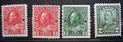 Canada  stamp old early 19 admiral George V MNH  lot 20
