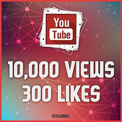 10,000 Youtube-Views & 300 Likes-No Drop | Super Fast Delivery - Youtube Service