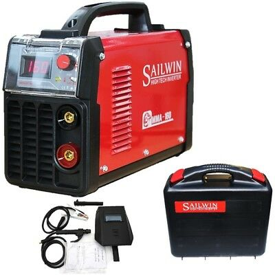 160Amp Mma/arc/stick/ Dc Inverter Welder With Lift Tig, Led Display +Accessories