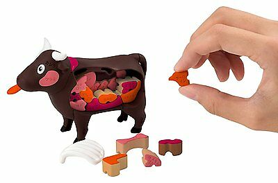 MOW MOW BBQ 3D puzzle small size Megahouse building toy Japan Christmas Gift F/S